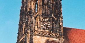 Stadtspiel Tod im Turm in der Innenstadt von Münster.