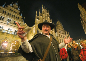 Der Nachtwächter-Rundgang in Münster